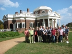 We visited Monticello and deepened our knowledge and understanding of Thomas Jefferson