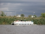 Meadowlands Pontoon Boat full of RHS 58ers