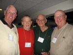 Bill Hands, Ray Schumann, Bob Diadioz and Tom VanderVeer-2009