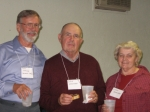 Don Steinke, David and Lynn Goodhart 2009