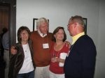 Lee Brown (Me) Bobbie Rood, Vicky Collins Kingsley, Bob Van Etten-2009